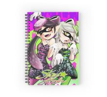 Squid Sisters- Stay Fresh Spiral Notebook