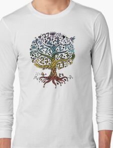 Floral tree beautiful, summer Long Sleeve T-Shirt