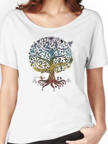 Floral tree beautiful, summer Women's Relaxed Fit T-Shirt