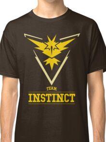 Pokemon Go : Team Instinct Classic T-Shirt