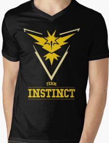 Pokemon Go : Team Instinct Mens V-Neck T-Shirt
