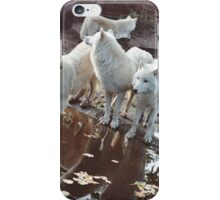 Listening Wolves iPhone Case/Skin