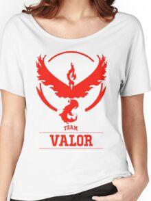 Pokemon Go : Team Valor Women's Relaxed Fit T-Shirt