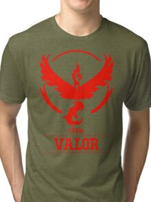 Pokemon Go : Team Valor Tri-blend T-Shirt