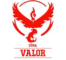 Pokemon Go : Team Valor Photographic Print