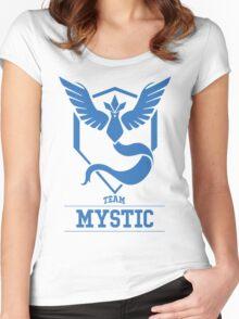 Pokemon Go : Team Mystic Women's Fitted Scoop T-Shirt