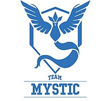 Pokemon Go : Team Mystic Photographic Print