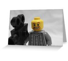 Lego Camerman Greeting Card