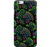 Cactus Floral - Bright Green/Pink iPhone Case/Skin