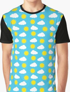 Sun & Clouds by Everett Co Graphic T-Shirt