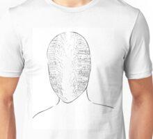 Falling words  Unisex T-Shirt