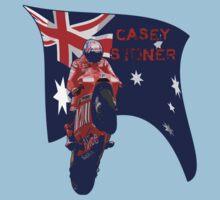 Casey Stoner rides a Ducati Kids Tee