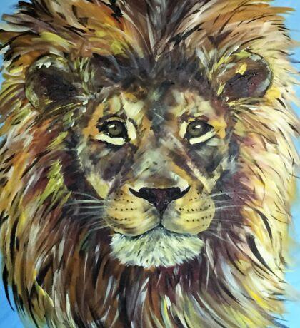 Braveheart - African male lion Sticker