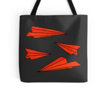 Red planes Tote Bag