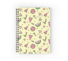 Cute Watermelon Party Spiral Notebook