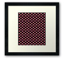 Strawberry Delight Black Framed Print