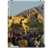 Beijing antics iPad Case/Skin