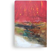 Elements 1 Fire & Earth Canvas Print