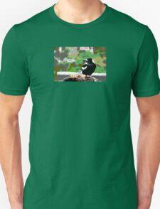 Backyard Magpie #8 of 8 Unisex T-Shirt