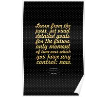 """Learn from the... """"Denis Waitley"""" Inspirational Quote Poster"""