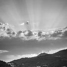 Dubrovnik Beams BW by Matti Ollikainen