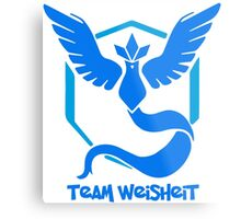 Team Weisheit - Pokemon Go Metal Print