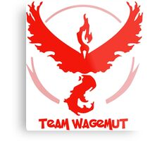 Team Wagemut - Pokemon Go Metal Print