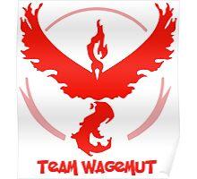 Team Wagemut - Pokemon Go Poster