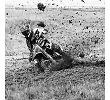 16.7.2016: Muddy Motocross Photographic Print