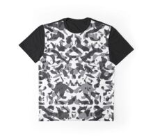 Spots background mirroring. Graphic T-Shirt