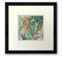 Emerald Visionary Framed Print