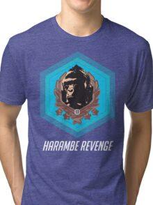 Harambe - Harambe Revenge Overwatch Tri-blend T-Shirt