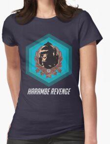 Harambe - Harambe Revenge Overwatch Womens Fitted T-Shirt