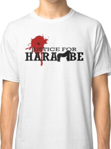 HARAMBE - Justice For Harambe Classic T-Shirt