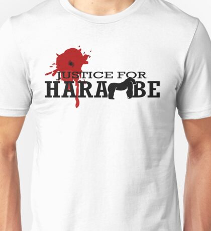 HARAMBE - Justice For Harambe Unisex T-Shirt