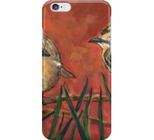 Golden Crowned  Sparrow iPhone Case/Skin