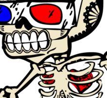 Dia De Los Muertos Doctor Sticker