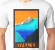 Vintage Travel Poster - India - Kashmir Unisex T-Shirt