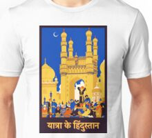 Vintage Travel Poster - India Unisex T-Shirt