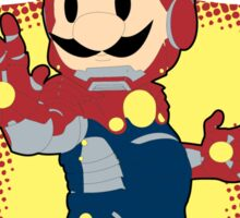 The Invincible Iron Plumber Sticker