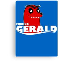 FINDING GERALD Canvas Print