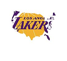lakers Photographic Print