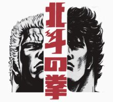 Kenshiro and Raoh by goomba1977