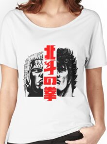 Kenshiro and Raoh Women's Relaxed Fit T-Shirt