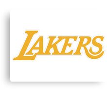 Los Angeles Lakers 03 Canvas Print