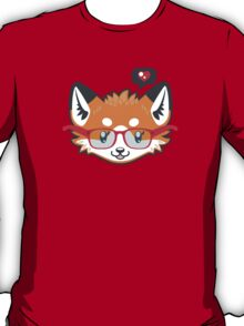 Nerdy Knitwear FOX - head only T-Shirt