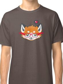 Nerdy Knitwear FOX - head only Classic T-Shirt