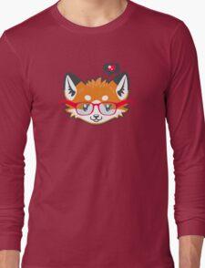 Nerdy Knitwear FOX - head only Long Sleeve T-Shirt