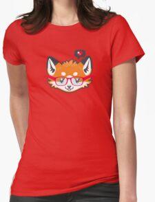 Nerdy Knitwear FOX - head only Womens Fitted T-Shirt
