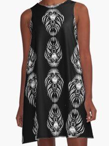Coton De A-Line Dress
